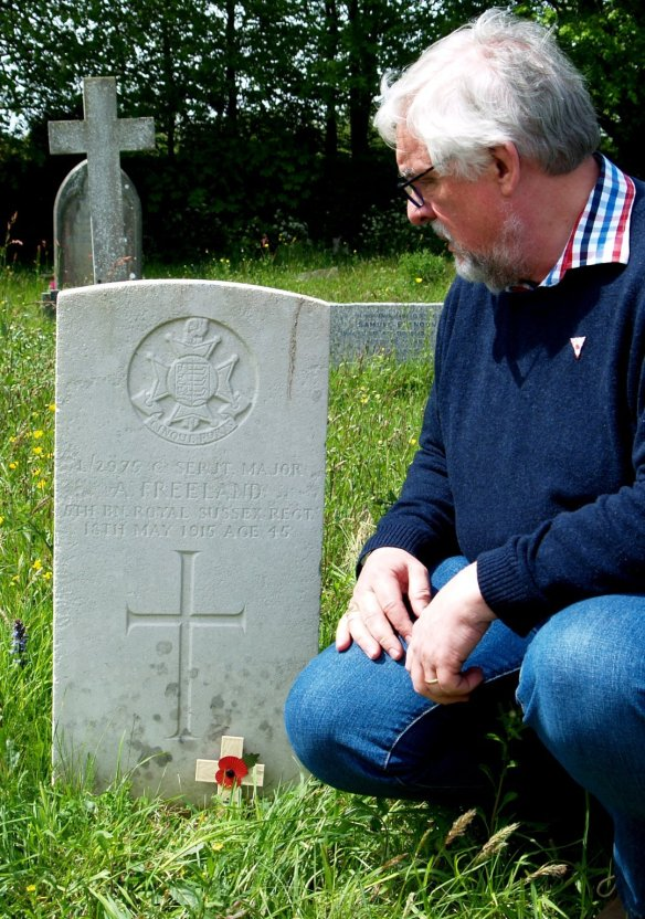 "Remembering Sergeant Freeland, 5th Battalion, ""Cinque Port"", Royal Sussex Regiment."