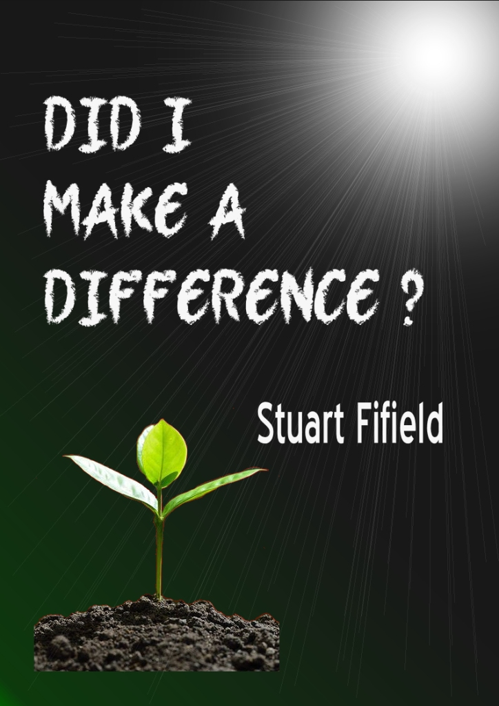 Did I Make a Difference Cover